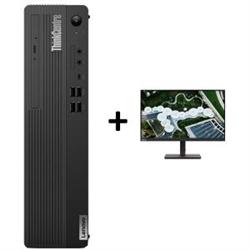 THINKCENTRE M70S-1 SFF I5-10400 16GB RAM 512GB SSD DVDRW WIN10 PRO 3YROS + LENOVO S24E20 MONITOR(62AEKAR2AU)
