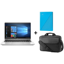 PB 640 G8 I5-1145G7 VPRO 8GB 256GB PVY 4G + MY PASSPORT 2TB BLUE + HP PRELUDE 15.6 TOP LOAD