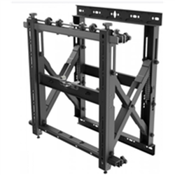 ATDEC SLIM POP-OUT VIDEO WALL MOUNT- UP TO 50KG- VESA UP TO 600X400- 10 YR WTY
