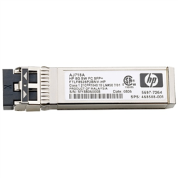 HP 8GB SHORT WAVE FC SFP+ 1 PACK