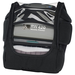 RW 420 HOLSTER WITH BELT LOOP SNAPS AND SHOULDER STRAP