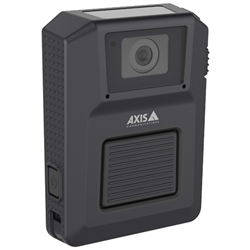 AXIS CAMERA W100 BODY WORN 1080P GPS/BT/802.11N