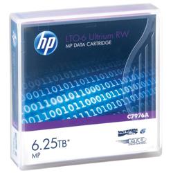 HPE LTO6 - 2.5/6.25TB DATA CARTRIDGE.