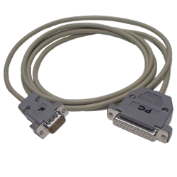 CABLE SER6500II-PC DB25 2M