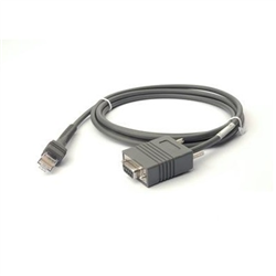 ZEBRA CABLE DATA SCANNER RS232 DB9F 2M STR TXD2