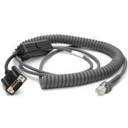 ZEBRA CABLE DATA SCANNER RS232 DB9F 2M CLD TX2
