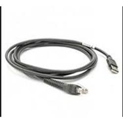 ZEBRA CABLE DATA SCANNER USB-SHIELDED 2M STRAIGHT BC1.2
