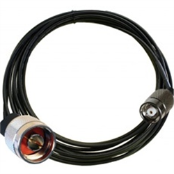 ZEBRA CABLE DATA RP-TNC TO TYPE-N LMR240 1.7M