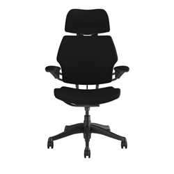 HUMANSCALE CHAIR FREEDOM HR ARM GRAPHITE LOTUS/BLK