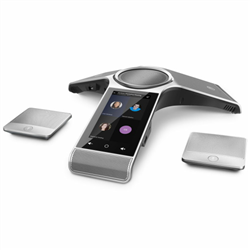 CP960 WIRELESSMIC CONFERENCE PHONE MICROSOFT TEAMS EDITION OPTIMA HD VOICE FULL DUPLEX 20-FEET AND 360 VOICE PICKUP 2X WIRELESS MIC ANDROID 5.1 OS 5' 1280X720 TOUCH SCREEN POE WI-FI/BT MICRO USB