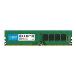 CRUCIAL 8GB DDR4 DESKTOP MEMORY- PC4-21300- 2666MHZ- SRX8- LIFE WTY