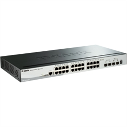 28-PORT GIGABIT STACKABLE SMART MANAGED SWITCH INCLUDING 4 10G SFP (DGS-1510-28X)