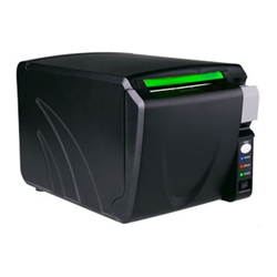 ELEMENT RW873 THERMAL PRINTER- DIRECT FRONT FEED- ETHERNET/SERIAL/USB COMPATIBLE- BLACK