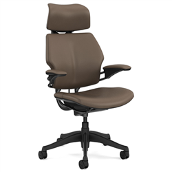 HUMANSCALE CHAIR FREEDOM HR ARMS T/STD BLK/MIS