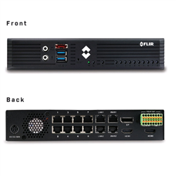 FLIR NVR EDGE SERVER 2TB 8-PORT/POE