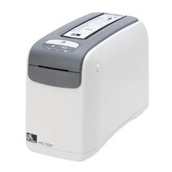 ZEBRA HC100 HEALRTHCARE LABEL PRINTER- 300DPI- DIRECT THERMAL- ZPLII- SERIAL- USB