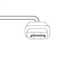 DISPLAY PORT CABLE SET TO SUIT HUMANSCALE HUMANSCALE QUICKSTAND (SINGLE OR FIRST MONITOR)