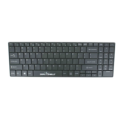 SEAL KEYBOARD 99K IP68 WIRELESS 2.4GHZ USB BLK
