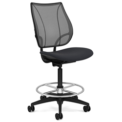 HUMANSCALE CHAIR LIBERTY ARMLESS MESH VELL HIGH BK