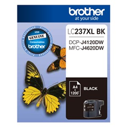 BLACK INK CARTRIDGE TO SUIT DCP-J4120DW/MFC-J4620DW - UP TO 1200 PAGES