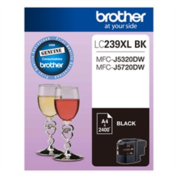 BLACK INK CARTRIDGE TO SUIT MFC-J5320DW/J5720DW - UP TO 2400 PAGES