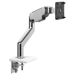 HUMANSCALE MONARM M10 SNG CLAMP WHI