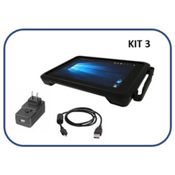 ZEBRA KIT ET51 8.4IN 4/64 2D WLAN W10 + PSU