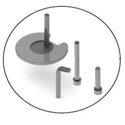 HUMANSCALE ACCESSORY BOLT THROUGH PLATE M2.1/M8.1/M10