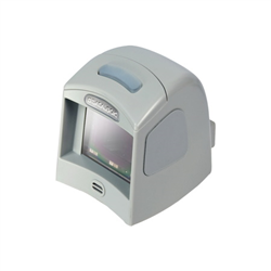 Datalogic Magellan 1100i Desktop Bar Code Reader - Cable Connectivity - 1D, 2D - Imager - Omni-directional - Grey