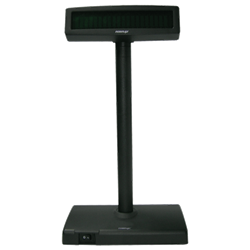 POSIFLEX Pole Display with base PD2600 2x20VFD 300mm Pole USB