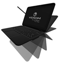 VENOM BLACKBOOK FLIP MINI 11 N4200 8GB- 256GB SSD- 11.6