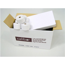 CALIBOR THERMAL PAPER 76MM X 48MM 36 ROLLS/BOX IMZ/MZ320