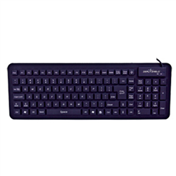 SEAL KEYBOARD 106K IP68 USB MAG BLK