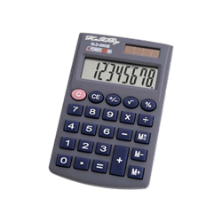 SLD-200III 8 DIGIT POCKET CALCULATOR (BOX)