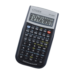 SR-260N BLACK SCIENTIFIC CALCULATOR