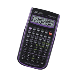 SR260N BLACK/PURPLE SCIENTIFIC CALCULATOR