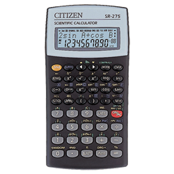 SR-275 SCIENTIFIC CALC