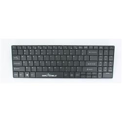 SEAL KEYBOARD 99K IP68 USB BLK