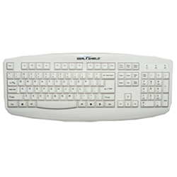 SEAL SHIELD KEYBOARD 105K IP66 PS2 WHI