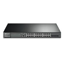 TP-LINK T2600G-28MPS(TL-SG3424P) 24 PORT GIGABIT L2 MANAGED SWITCH- GBE(24)-POE(24)-SFP(4)