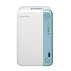 QNAP 2-BAY NAS (NO DISK)- CELERON DC 2.0GHZ- 4GB- GBE- PCIE- USB- TWR- 2YR WTY