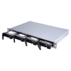 QNAP 4-BAY NAS (NO DISK)- ALPINE QC 1.7GHZ- 2GB- GBE(2)- 10GBE SFP+- 1U- 3YR WTY