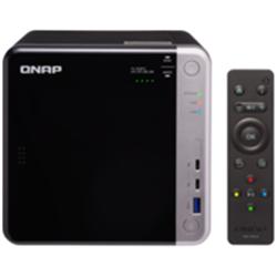 QNAP 4-BAY NAS (NO DISK) CELERON QC 1.5GHZ- 8GB- 10GBE- GBE(2)- T3(2)- TWR- 2YR WTY