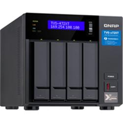 QNAP 4-BAY NAS (NO DISK) PENTIUM DC 3.1GHZ- 4GB- 10GBE(1)- GBE(2)- T3(2)- TWR- 2YR WTY