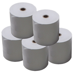 PLAIN BOND PAPER ROLLS 57 X 50 BOX 50