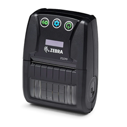 ZEBRA ZQ210 MOBILE LABEL PRINTER- 2 INCH- 16MB- BLUETOOTH- LINERLESS