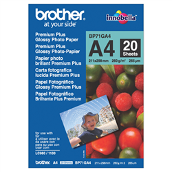 A4 PREMIUM PLUS GLOSSY PAPER (20 SHEETS) - 260 GSM