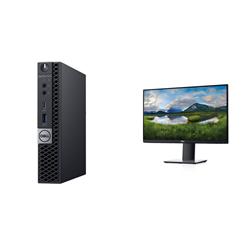 OPTIPLEX 7070 MICRO I5-9500T 8GB(1X8GB 2666-DDR4) 256GB(M.2-SSD) + MONITOR 23.8IN P2419H FOR ADDITIONAL $99EX - PROMO BUNDLE