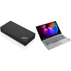 THINKBOOK 14S 14IN I7-10510U 16GB 256GB W10P 1YOS + USB-C DOCK GEN 2(40AS0090AU)