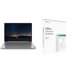 THINKBOOK 14 14IN I5-10210U 16GB 256GB W10P 1YOS+ OFFICE HOME AND BUSINES 2019(T5D-03301)